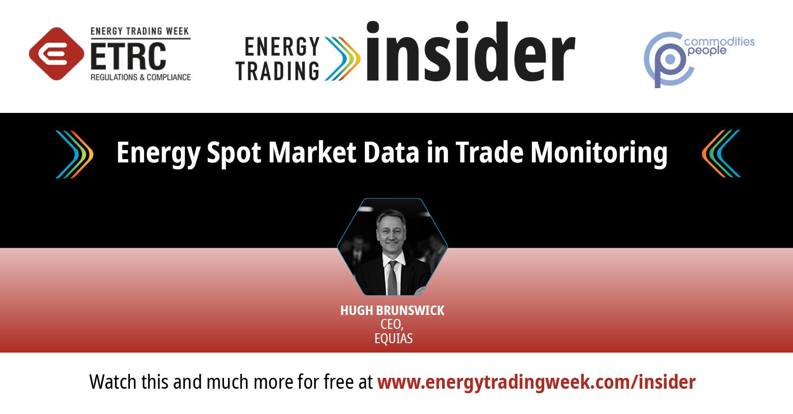 Energy Spot Market Data In Trade Monitoring